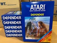 DEFENDER - ATARI 2600 Video Game System  - NEW + BONUS - ATARI FORCE COMIC BOOK