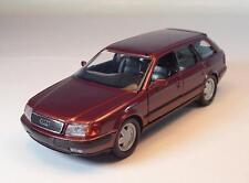 Schabak 1/43 1055 Audi 100 Avant dunkelrotmetallic OVP #1060