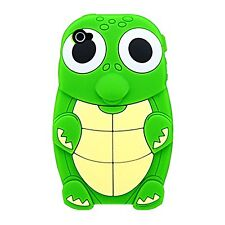 Green Silicone TURTLE Phone Case / Cover for Apple Iphone 4 / 4S
