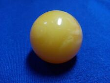 26 gr. Amber Ball Sphere 35.6 mm Egg Yolk Natural Round Bead Genuine Baltic