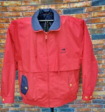 KEENELAND RACE TRACK RED Full Zip SMALL JACKET THOROUGHBRED HORSE EQUINE LINED