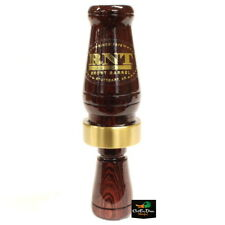 NEW RNT RICH-N-TONE SHORT BARREL SINGLE REED DUCK CALL KINGWOOD WOOD