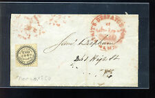 Scott #61L2 Eagle City Post Local Stamp on  Cover w/PF Cert (Stock: 61L2-4)