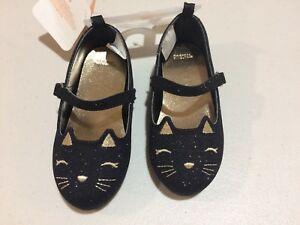 NWT Gymboree Fall Festival Kitty Shoes Flats Cat Toddler Girls SZ 4,6,7,9
