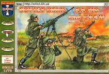 Orion 1/72 Russian (WWII) DShK Machine Gun and Crew # 72038