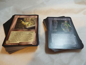 MIDDLE EARTH AGAINST THE SHADOW COMPLETE COMMON AND UNCOMMON SET IN GERMAN