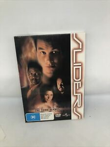 SLIDERS Season 3 DVD Region 4 Sci Fi TV Show Very Good Condition Super Rare