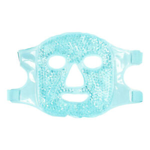 Reusable Gel Beads Cooling Facial Mask Gel Face Mask Pack Hot Cold Therapy