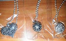 Il Suono degli Angeli - 3 Collane 2 Con Sfere e 1 con Cuore - Fashion Jewelry