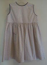 *Brand New* Bella Bliss Bluebell W/ Navy Trim Button Back Dress ~ Girl's 24M
