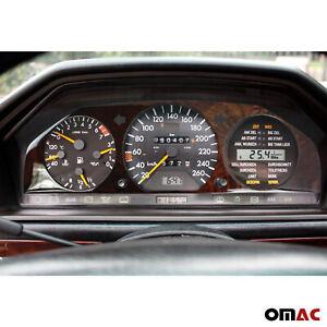Tacho-Rahmen Cockpit für Mercedes E-Klasse W124 1984-1997 Wurzelholz Edelholz