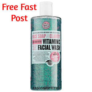 Soap And & Glory Facial Wash Vitamin C 3in1 Daily Detox Face Soap and Clarity