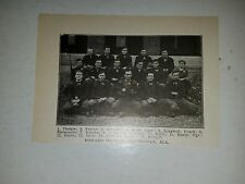 Howard College Birmingham Alabama 1911 Football Picture