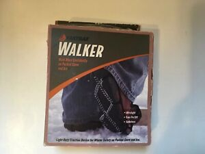Yaktrax Walker Snow & Ice Traction for Shoes Boots Men & Women Small Black - NEW