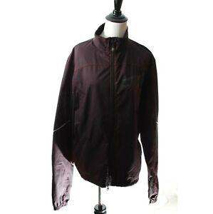 Specialized Men's Jacket Black Size S Reflective Cycling Biking Windbreaker