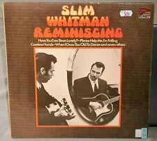 SLIM WHITMAN REMINISCING SLS 50352 1968 SUNSET RECORDS VINYL LP ALBUM RECORD