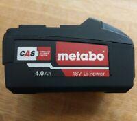 Metabo 18 Volt Li-Power 4.0 Ah Akku 18V 625591000 CAS Cordless Alliance System
