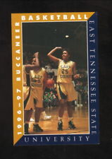 East Tennessee State Buccaneers--1996-97 Basketball Pocket Schedule