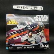 Star Wars Obi-Wan's Jedi Starfighter The Saga Collection Episode III mint  sh-1