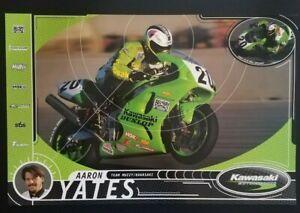 Vintage Poster 1999 Aaron Yates Team Muzzy Kawasaki ZX-7R Superbike ZX-6R Ninja