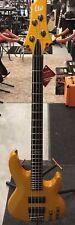 ESP LTD Standard B-154DX Electric Bass Guitar Honey Tone Flame Maple Top
