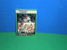 greg maddux 1989 Starting Lineup  Card Only