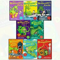The Dragonsitter series Josh Lacey Collection 8 Books Set Children's pack
