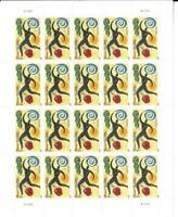 US SCOTT 4625 PANE OF 20 HEART HEALTH STAMPS FOREVER MNH