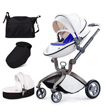 Pushchair Baby Pram 3in1 Buggy, Stroller, Travel System 2016 - Car Seat Adapter