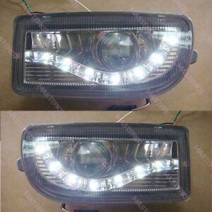 For Toyota Land Cruiser 100 105 98 - 07 LED Modified Front Fog Lights L & R Set