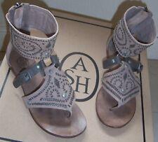 ASH Nu-pieds bohème 36/US 6/UK 4 Ash Mumbai Cuffed Flat Sandals Boho  SOLD OUT