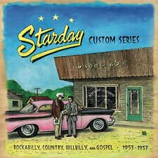 ✦✦STARDAY CUSTOM SERIES '53-57✦✦KILLER PRIMITIVE ROCKABILLY COUNTRY GOSPEL 10 CD