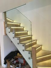 Stainless Steel 316 Grade Glass Stand off Clamps. Balustrade and Handrail Fit
