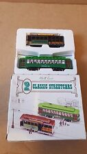 HO scale 2 classic street cars (unpowered)