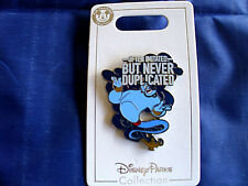 Disney * GENIE * Often Imitated But Never Duplicated * New on Card Trading Pin