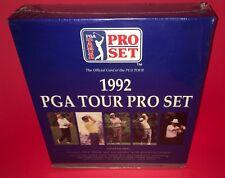 Reliure de cartes scellée 1992 PGA Golf Tour Set Pro Set avec pages de protection ~ Nouveau