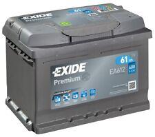 Batterie Exide EA612 Fulmen FA612 12v 61ah 600A 242x175x175mm varta D21 D24