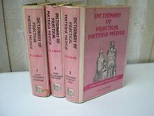 J.H. CLARKE : DICTIONARY OF PRACTICAL MATERIA MEDICA 1986