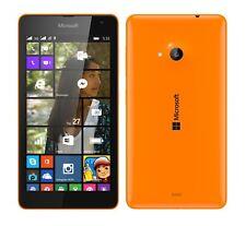 Microsoft lumia 535 in orange cellphone dummy-accessories, deco,