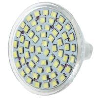 6x MR16 GU5.3 Weiss 60 SMD 3528 LED Energiespar Spotlight Licht Lampe 12V D4O PR