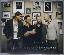 BOYZONE - GAVE IT ALL AWAY 2010 UK CD SINGLE RONAN KEATING