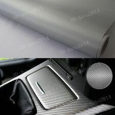 5ft x 5ft Dark Gray 3D Carbon Fiber Vinyl Film Wrap (Bubble Free Channel) 60 x60