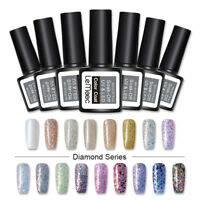 8ml LEMOOC Glitter Smalto Gel Semipermanente Soak Off UV Gel  97 Colors
