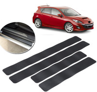 Car door sill carbon fiber sticker Wear resistant anti-slip film protection pad