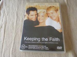 Keeping The Faith (DVD, 2002) Region 4 Ben Stiller, Edward Norton