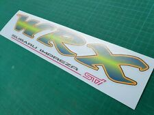Subaru Impreza GC8 WRX STI classic tailgate Sticker Decal replacement Type R RA