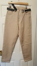 LADIES MAGIC CASUAL DOLPHIN EASY FIT JEANS & BLACKBELT SIZE 16 31 LEG BRAND NEW.