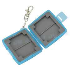 JJC water-resistant Holder Hard Storage Memory Card Case For 4 SD & 2 CF Cards
