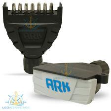ARK MAGNETIC 7 PIN FLAT BOAT/CARAVAN/CAR/LANDCRUISER TRAILER PLUG & SOCKET KIT