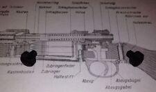Two Original K98 Mauser Trigger Guard Locking / Capture Screws.